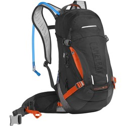 Camelbak Mule LR 15L Hydration Pack with 3L Bladder - Black/Laser Orange
