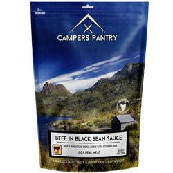 Campers Pantry Beef & Blackbean Freeze Dried Meal