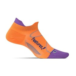 Feetures Elite Ultra Light Cushion No-Show Tab Running Sock - Firecracker/Iris