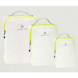 Eagle Creek Pack-It Spec Travel Garment Cube Set - White/Strobe