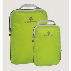 Eagle Creek Pack-It Spec Travel Compression Comp Cube Set - Strobe Green