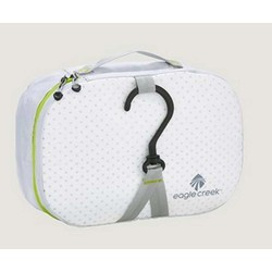 Eagle Creek Pack-It Spec Wallaby Hanging Toiletry Bag - Small - White/Strobe