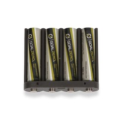 Goal Zero AAA Batteries x 4 and Adapter
