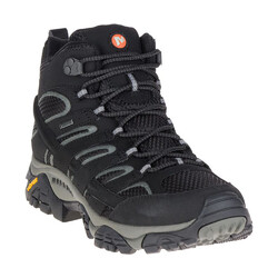 Merrell Moab 2 Mid GTX Mens Waterproof Hiking Boots - Black