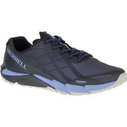Merrell Bare Access Flex Trail Running Shoes - Black/Metallic Lilac