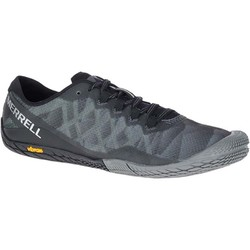 Merrell Vapor Glove 3 Womens Barefoot Trail Running Shoes - Black Silver
