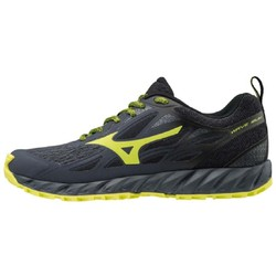 Mizuno Wave Ibuki Mens Trail Running Shoes - Ombre Blue/Bolt/F.Gray