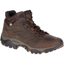 Merrell Moab Adventure Mid Mens Waterproof Hiking Boots - Dark Earth