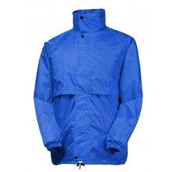 Rainbird Kids Stowaway Waterproof Packable Rain Jacket - Royal