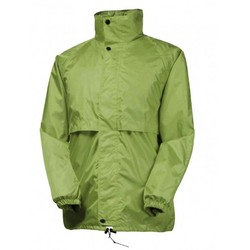 Rainbird Kids Stowaway Waterproof Packable Rain Jacket - Tahitian Lime
