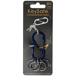 Bico Keysafe Oval #4 - Blue