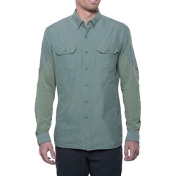 KUHL Airspeed Mens Long Sleeve Shirt- Agave Green