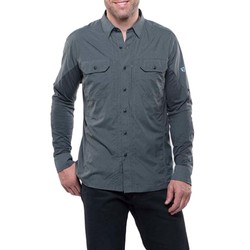 KUHL Airspeed Mens Long Sleeve Shirt- Carbon