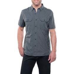 KUHL Airspeed Mens Short Sleeve Shirt- Carbon