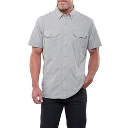 KUHL Airspeed Mens Short Sleeve Shirt- Khaki