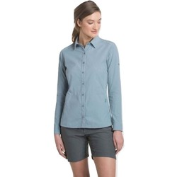 KUHL Invoke L/S Womens Shirt - Stone Blue