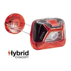 Petzl Zipka 200 Lumen Headlamp - Red