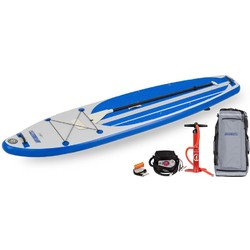 Sea Eagle LB11 LongBoard Inflatable SUP - Electric Pump Package