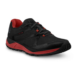 Topo Athletic MT-3 Mens Trail Running Shoes - Black/Red