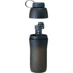 Platypus MetaBottle Filter 1L Packable Water Bottle - Slate