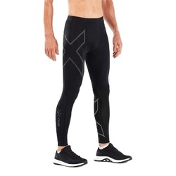 2XU MCS Run Mens Compression Tight W Back Storage - Blk/Brf