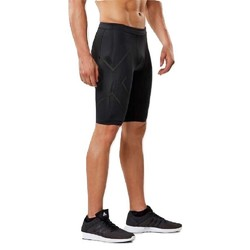 2XU MCS Run Mens Compression Shorts - Blk/Brf