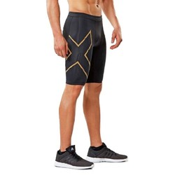 2XU MCS Run Mens Compression Shorts - Blk/Grf