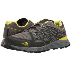 The North Face Mens Ultra Endurance Trail Running Shoes - Graphite Grey/Sulphur Spring Green