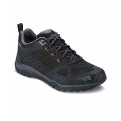 The North Face Ultra Fastpack II Gore-Tex Waterproof Mens Trail Running Shoes - Black/Dark Shadow Grey