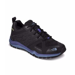 The North Face Ultra Fastpack II Gore-Tex Waterproof Womens Trail Running Shoes -Black/Bright Navy