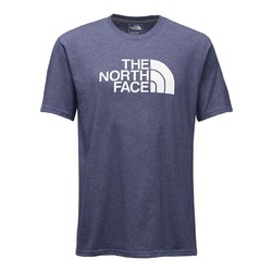 The North Face Mens Shorts Sleeve Half Dome Tee - Blue