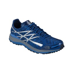 The North Face Mens Ultra Tr 2 Trail Running Shoes - Limoges Blue/Monument Grey (Print)