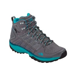 The North Face Womens Litewave Explore Mid Wp Hiking Boots - Steeplgy/Blubrd