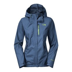 The North Face Dryzzle Womens Waterproof Goretex Rain Jacket - Shady Blue