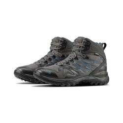 The North Face Mens Hedgehog Fastpack Mid Goretex Waterproof Hiking Boots - Grite Grey/Dk Slate Bl