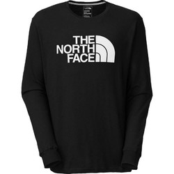 The North Face Mens LS Half Dome Tee Shirt - Tnfblack/Tnfwht