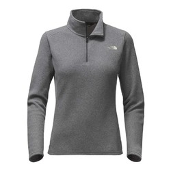 The North Face Womens Glacier 1/4 Zip Fleece - Tnfdkgryhtr