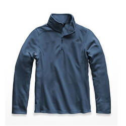 The North Face Glacier 1/4 Zip Womens Jacket - Blue Wing Teal