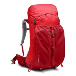 The North Face Banchee 50L Hiking Backpack - Rage Red/High Risk Red