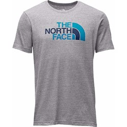 The North Face Mens SS Half Dome Triblend Tee Shirt - Tnflgh/Shdyblml