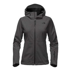 The North Face Womens Apex Flex GTX Waterproof Jacket - High Rise Grey/Glo Pink
