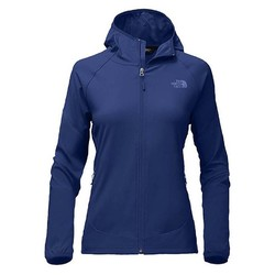 The North Face Womens Nimble Softshell Hoodie - Sodalite Blue