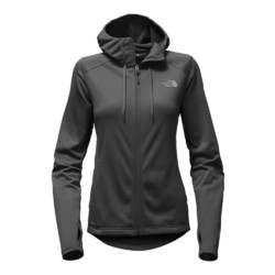 The North Face Tech Mezzaluna Womens Fleece Hoodie - TNF Black