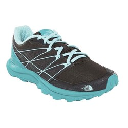 The North Face Womens Litewave Endurance Trail Running Shoes - Tnf Blk/Kokomo