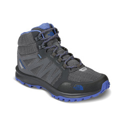 The North Face Womens Litewave Fastpack Mid Waterproof Hiking Boots- Grey