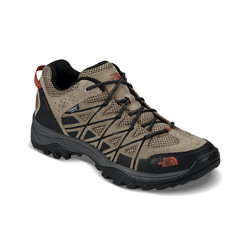 The North Face Mens Storm III Waterproof Hiking Shoes - Dune Beige/Arabian Spice