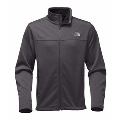 The North Face Mens Apex Canyonwall Fleece Jacket - TNF Dark Grey Heather