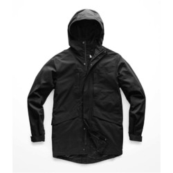 The North Face Mens El Misti Hooded Trench II - Tnf Black