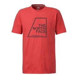 The North Face Mens Short Sleeve Retro Tee - Sunbaked Red