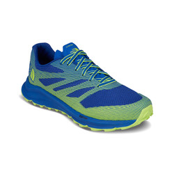 The North Face Mens Ultra TR III Trail Running Shoes - Turkish Sea/Dayglo Yellow